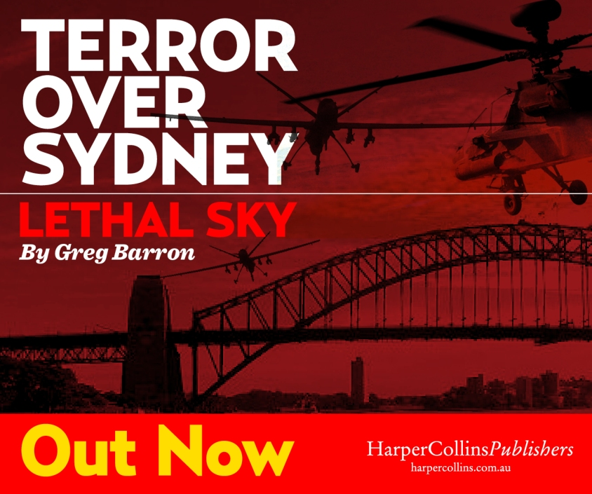 Finally! Lethal Sky is out today. In all good bookshops across Australia, New Zealand and online.
